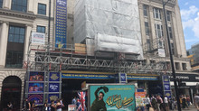 Dominion Theatre: Signage Installation