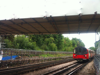 London Network Scaffolding LTD Completes Scaffold Works at Finchley Central Station Footbridge for t