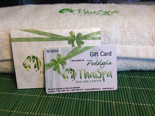 Gift Card Podologia
