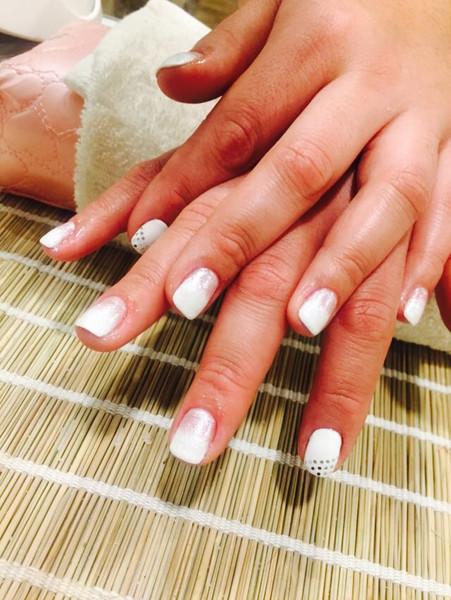 Manicure realizada a nuestras fieles clientas