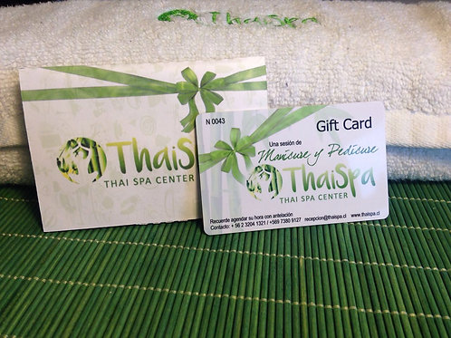 Gift Card  Manicure y Pedicure