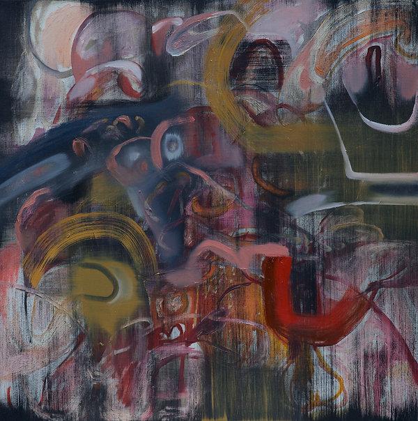 "30""x30"". Oil on canvas"