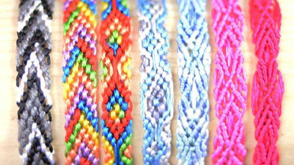 Silk bookmark / silk bracelet