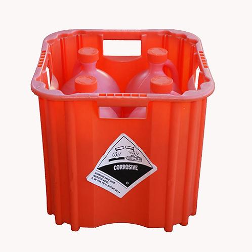 Muriatic Acid Case (4 x 1 Gallon)