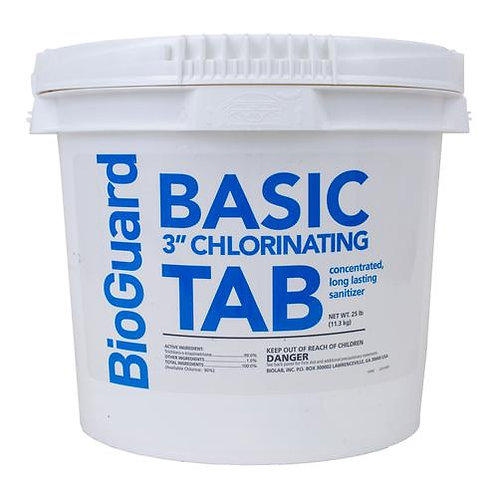 "BioGuard 3"" Basic Tabs"