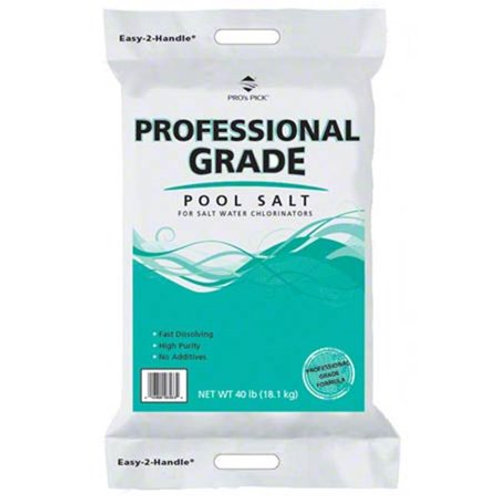 Pool Salt 40 Lb. Pro Quality
