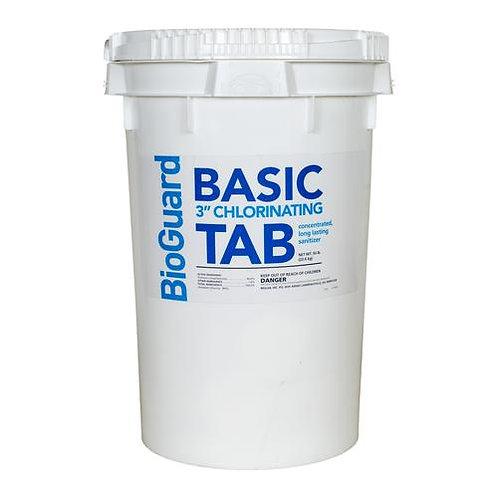"Bioguard Basic Tabs 3"" 50 lb."