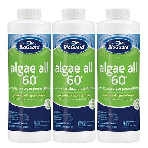 BioGuard Algae All 60 Buy 3 get 1 Free