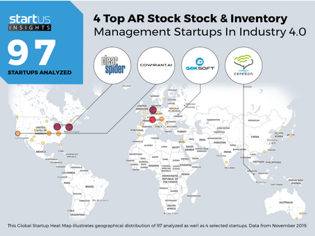 Cerekon amongst top 4 startups for Inventory Management in Industry 4.0 .