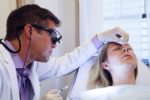 Dr Waterman performs a non-surgical nose job