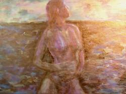 沙灘上的女人 Girl on the Beach