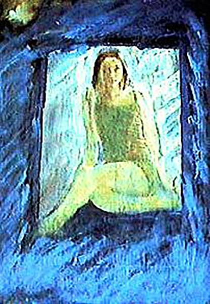 獨坐的女孩 Sitting Girl