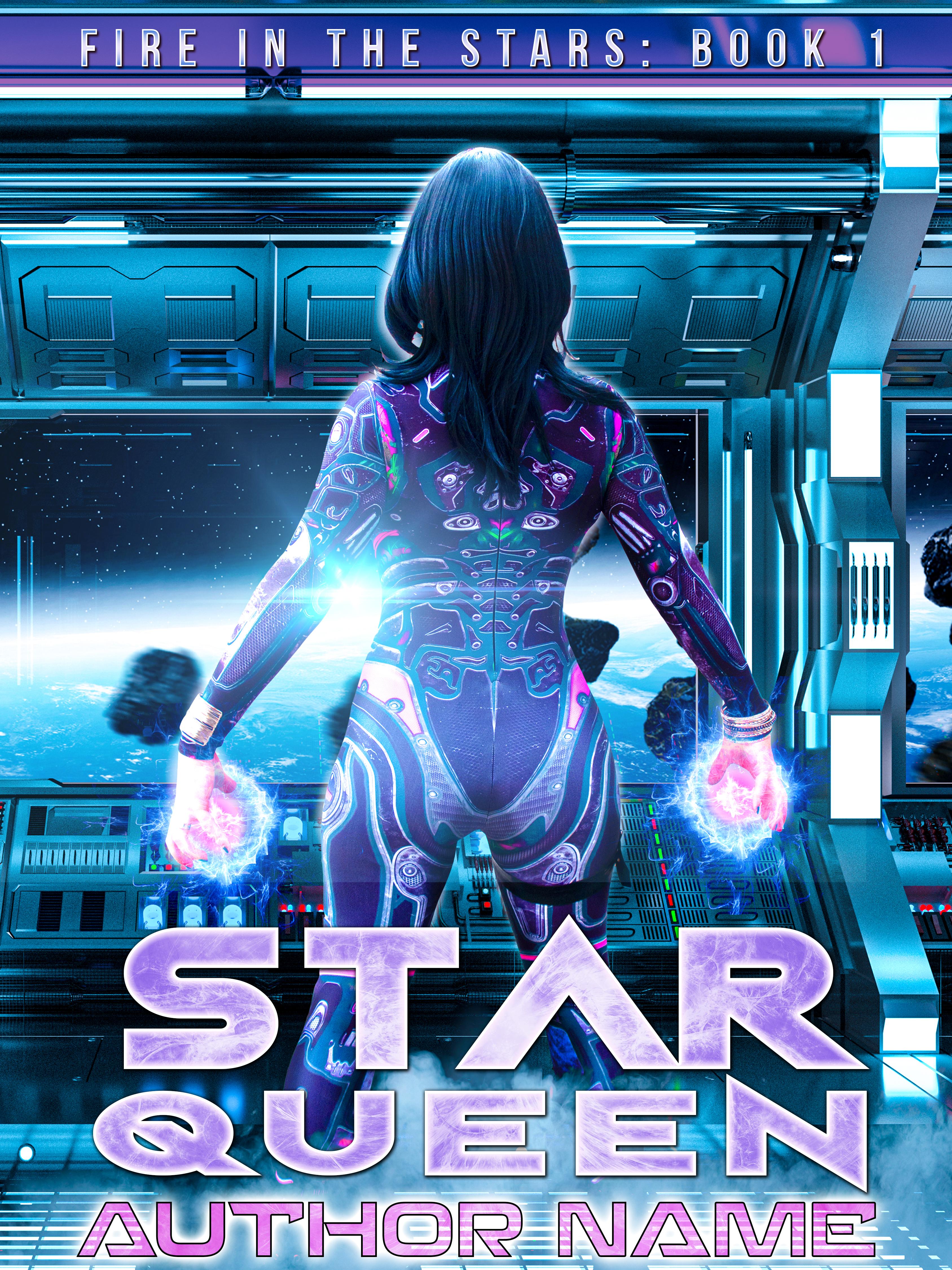 Star Queen - Sci-Fi/Fantasy Cover