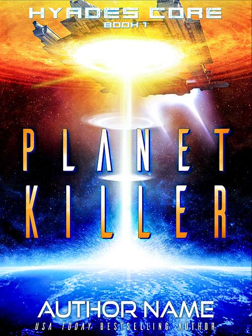 Planet Killer Premade Cover