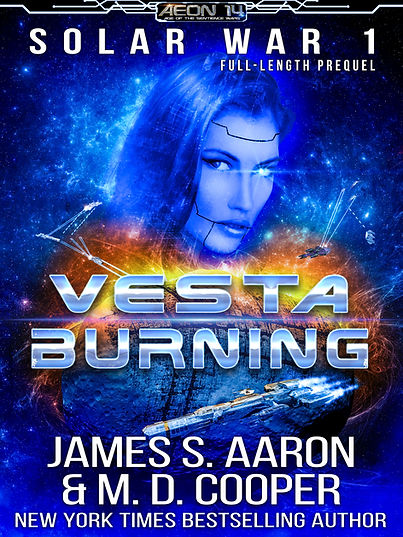 Vesta Burning