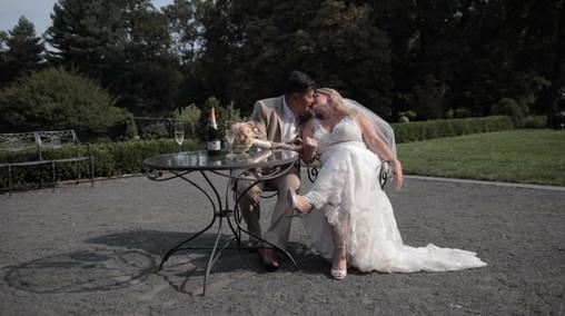 Alexia & Jim's NJ Same Day Edit (SDE) Wedding Video at the Marina Del Rey, In The Bronx NY by www.abellastudios.com