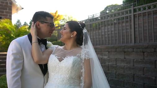 Larissa & Steven's NJ Same Day Edit (SDE) Wedding Video at the The Grove, In Cedar Grove NJ by www.abellastudios.com