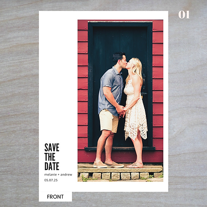 Vertical - Save-The-Date Magnets