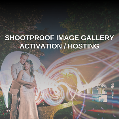 ShootProof Image Gallery Activation & Hosting