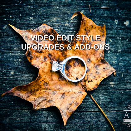 Video Edit Style (Upgrades/Add-Ons)