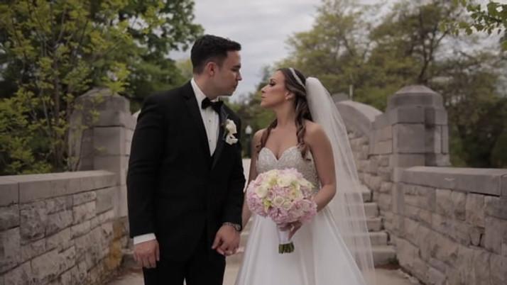 Anna Maria & John's NJ Same Day Edit (SDE) Wedding Video at The Venetian, NJ by www.abellastudios.com
