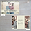 """Thumbnail: """"Fortunata"""" Horizontal Save-The-Date Post Cards"""