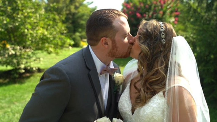 Lauren & Bobby's NJ Same Day Edit (SDE) Wedding Video at the Hamilton Manor, In Hamilton NJ by www.abellastudios.com