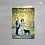 Thumbnail: Bi-Fold Vertical Save-The-Date Cards