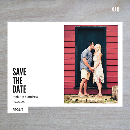 Horizontal - Save-The-Date Magnets