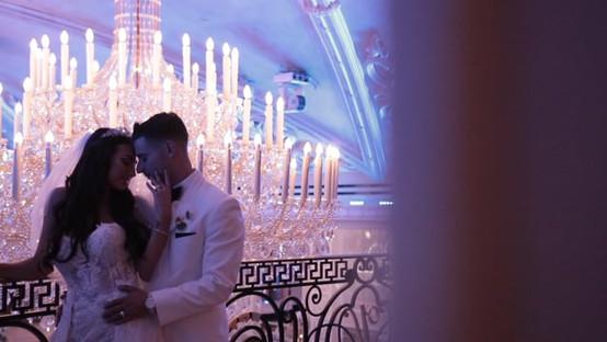 Maria & Joseph's NJ Same Day Edit (SDE) Wedding Video at the Venetian, In Garfield NJ by www.abellastudios.com
