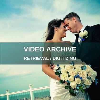 RAW FOOTAGE - Archive Retrieval / Digitizing Service