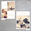 """Thumbnail: """"Fortunata"""" Vertical Save-The-Date Post Cards"""