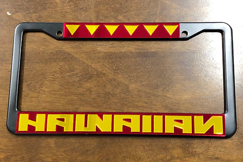Hawaiian License Plate Frame