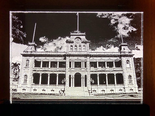 Iolani Palace LED Sign
