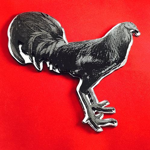 Engraved Chicken