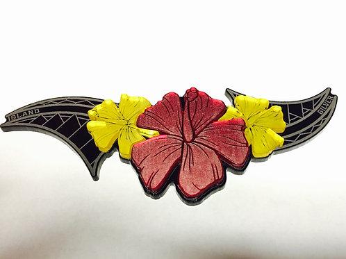 Floral Hibiscus