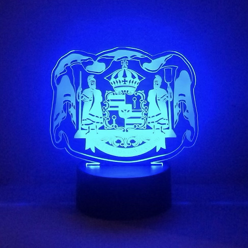 Hawaii Coat of Arms Portable LED