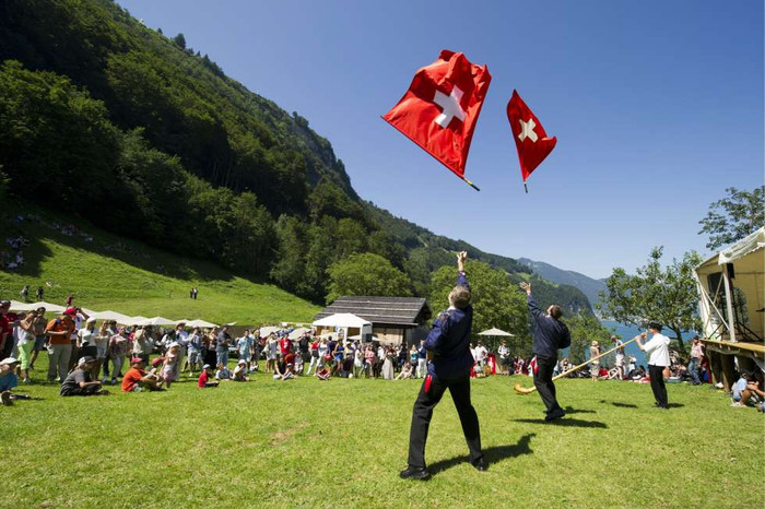 Swiss National Day - Yippee aiyee!