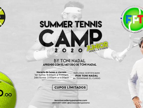 Summer Tennis Camp 2020