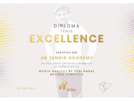 AB Tennis Academy certificada por World Mastery By Toni Nadal
