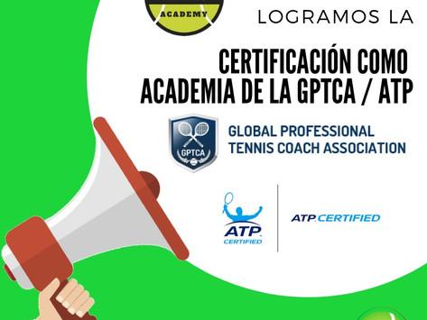Certificación como Academia certificada de la GPTCA