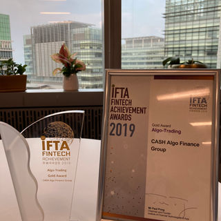 IFTA Fintech Awards Presentation Ceremony