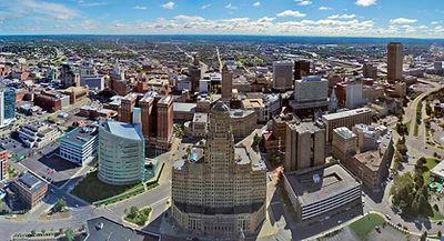 Buffalo, NY, USA Skyline