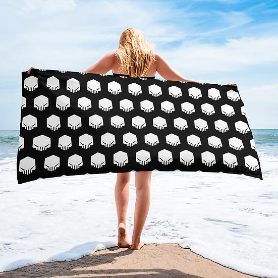 Dark Silence Logo #2 Towel