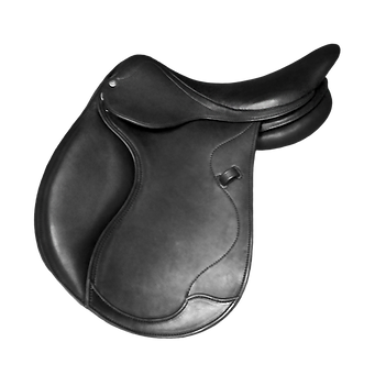 selle mixte modele athena doublée noire  disponible chataigne noir et havane fabrication LM Sellier