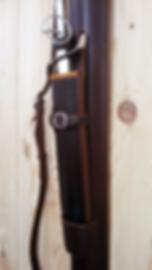 étui de dague en cuir fabrication LM Sellier