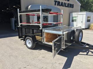 Paddleboard trailer