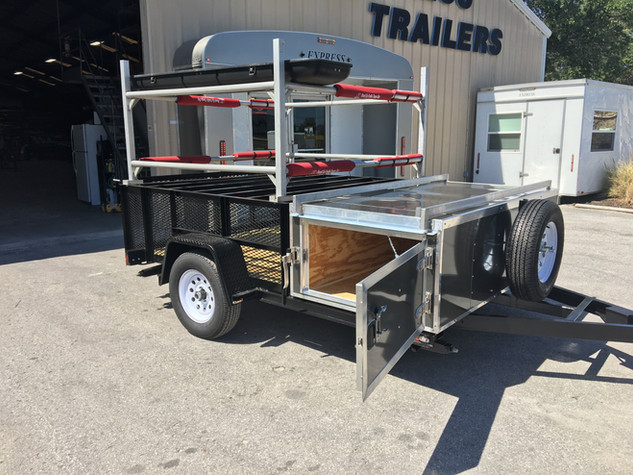 Paddleboard trailer
