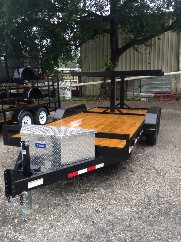 Custom Equipment Trailer