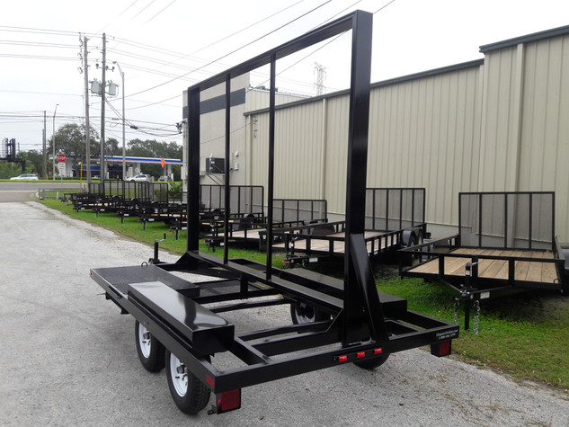 LED screen trailer